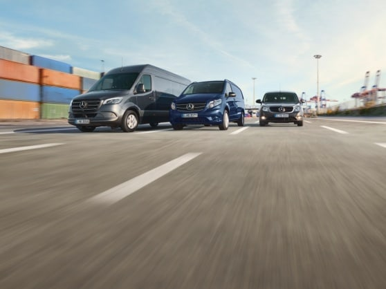 Mercedes-Benz arrangementer