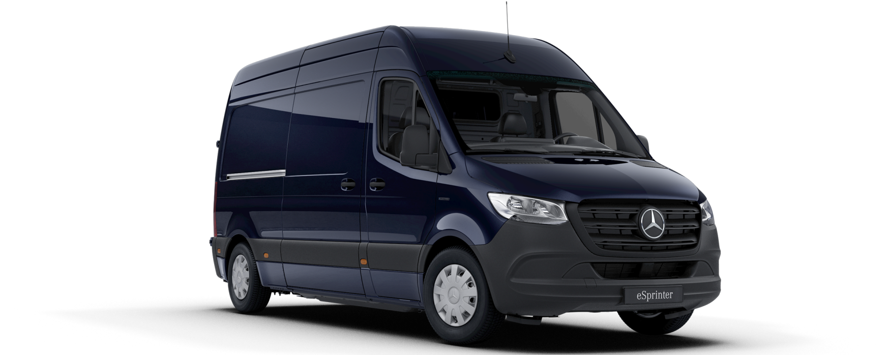 eSprinter kassevogn, cavansitblå metallic