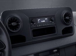 eSprinter kassevogn, digital radio (DAB+)